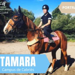 Portrait de Tamara