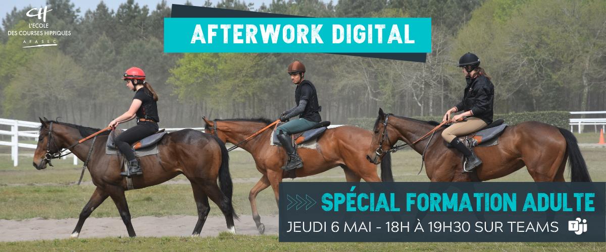 Afterwork digital École des Courses Hippiques AFASEC